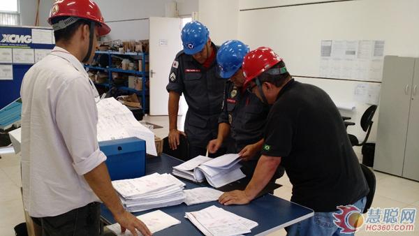 徐工巴西一次性顺利通过AVCB消防验收认证